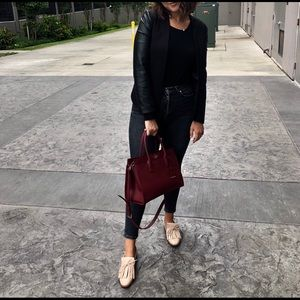 Zara Nude Loafers size 39